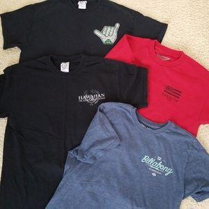 Bundle: 4 mens t-shirts, sz M